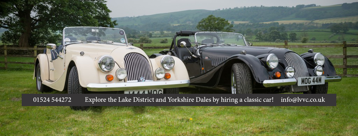 Classic car hire in the lakes