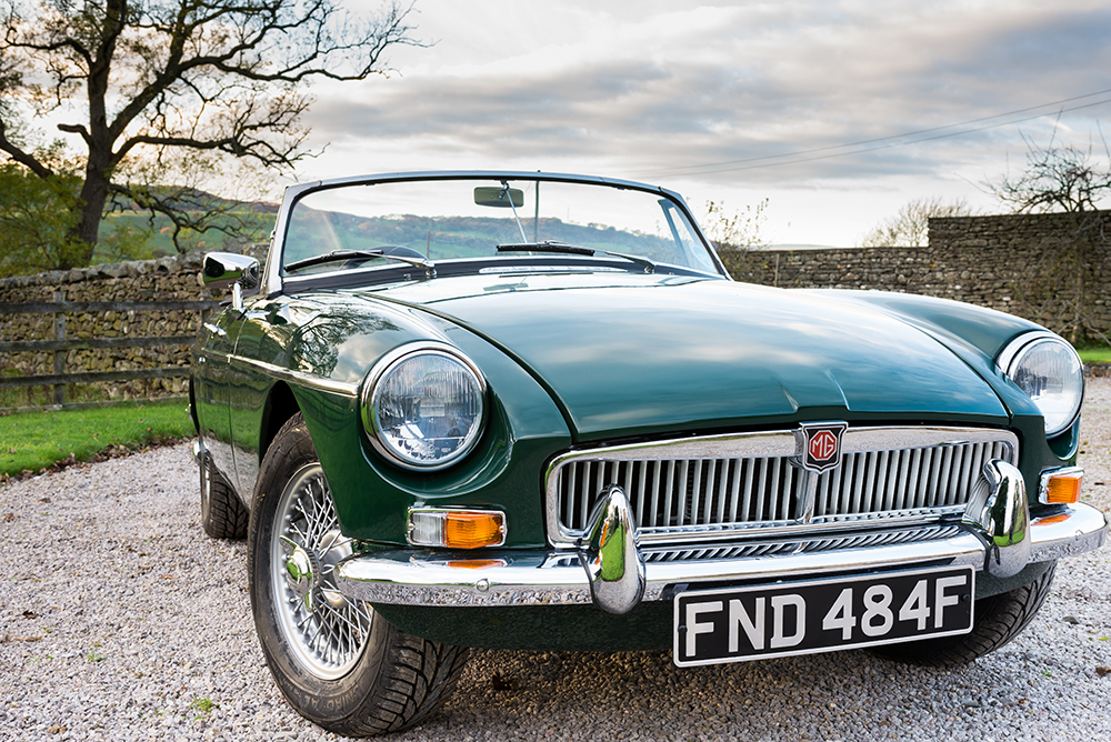 MGB Roadster Green -